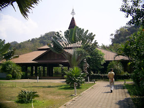 Photo: At Wat Pah Sunan in Kanchanaburi where Ajahn Mitsuo Gavesako lives