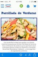Screenshot of Alimenta Sonrisas de Danone