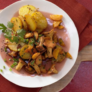 Chanterelle Potatoes