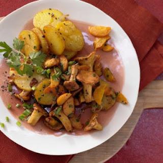 Chanterelle Potatoes.