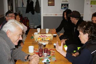 Photo: Planering för dagen... (Susanne längs bort till höger)