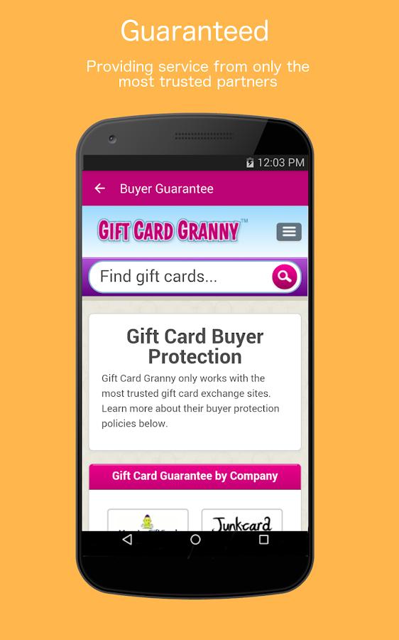 Gift Card Granny- screenshot