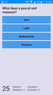 Physics Quiz - náhled