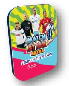 Mega Tin - Topps MATCH ATTAX EXTRA Premier League 2017 Nordic Edition