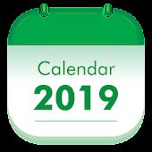 Holiday Calendar 2019 Mod