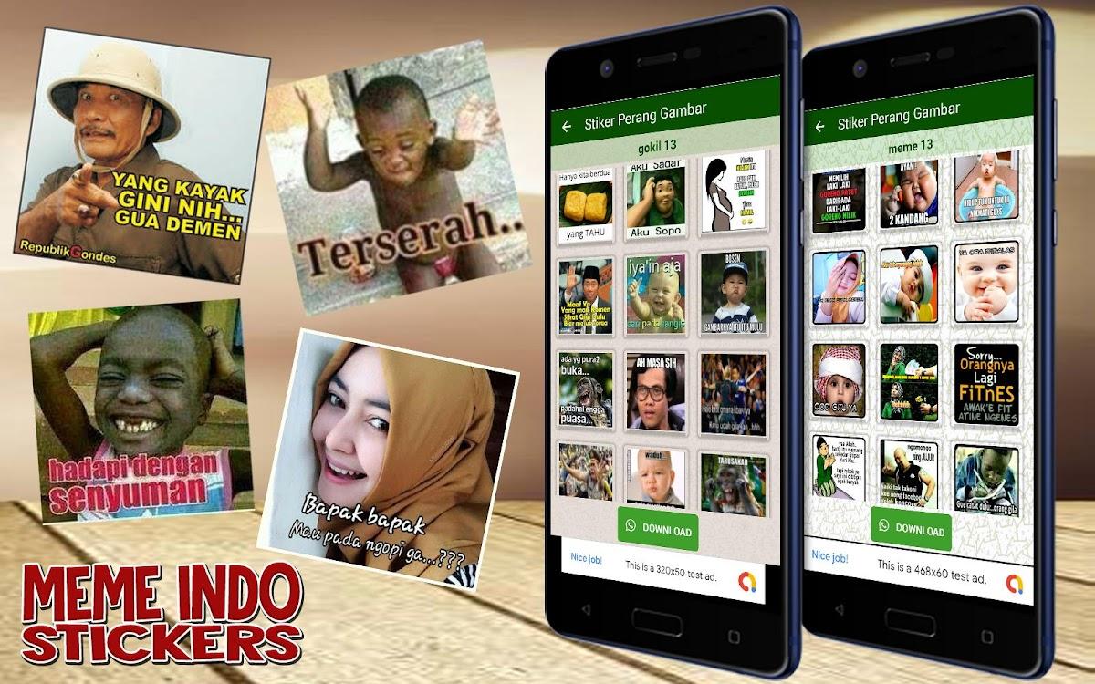 Stiker Perang Gambar Jowo Lucu Jawa WaStickerApps – Android