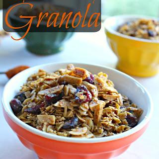 Chipotle Cranberry Granola
