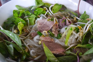 Photo: Best pho tasted throughout Laos trip - only at Vientiane's Pho Zap