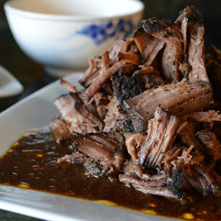 Slow Cooker Mocha-Rubbed Pot Roast