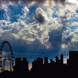 by Jim Cunningham - City,  Street & Park  Skylines