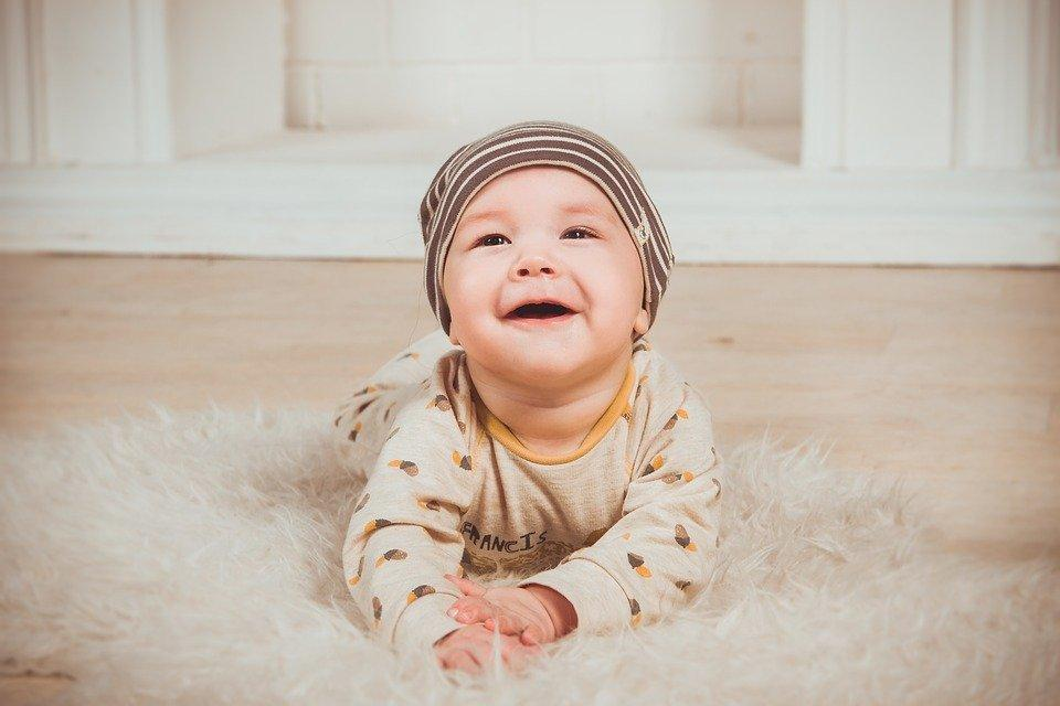 Babe, Smile, Newborn, Small Child, Boy, Person, Smiles