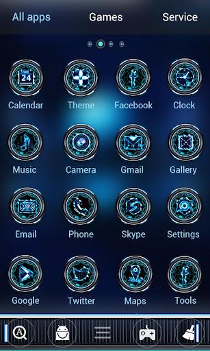 Apollo GO Launcher Theme screenshot