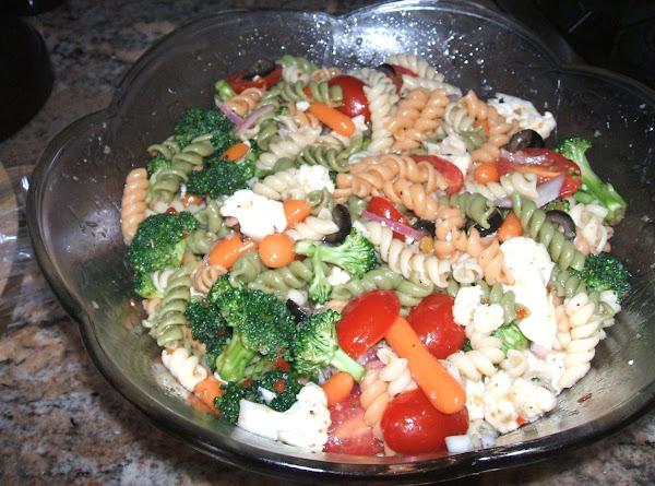 Veggie Pasta Salad Recipe