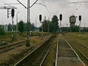 Photo: Tory i perony {Skoczów; 2013-07-05}