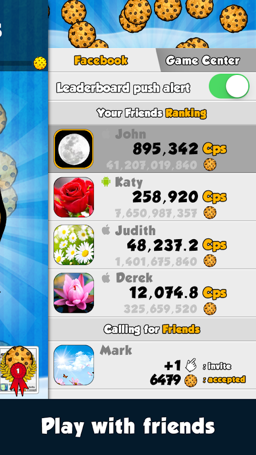 Screenshots of Cookie Clickers™ for iPhone