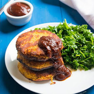 Paleo Cajun Sweet Potato Tuna Fishcakes with No-Cook BBQ sauce #ForFoodAgainstHunger