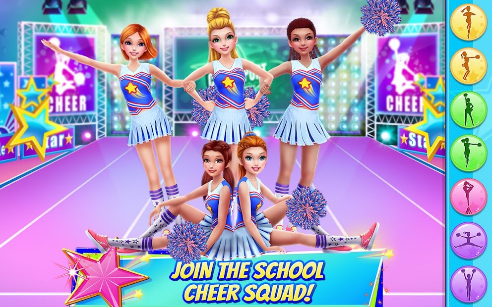 Cheerleader Dance Off - Squad of Champions Android App Screenshot