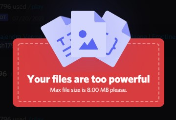 your files are too powerful
