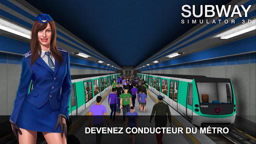 Télécharger gratuit Subway Simulator 3D - Conduite Souterraine APK MOD 1