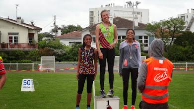 Photo: Inès : Vice Championne de Gironde 2015 50 m Benjamines 2e Année