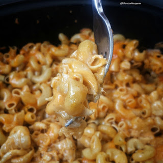 5-Ingredient Slow Cooker Mac & Cheese.