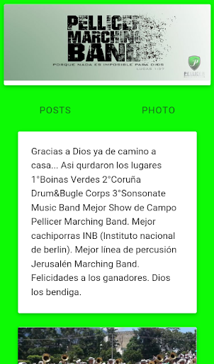 Pellicer Marching Band