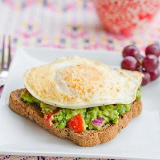 Guacamole Toast for Breakfast.