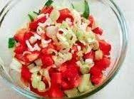 Secret Crunchy Cucumber Salad