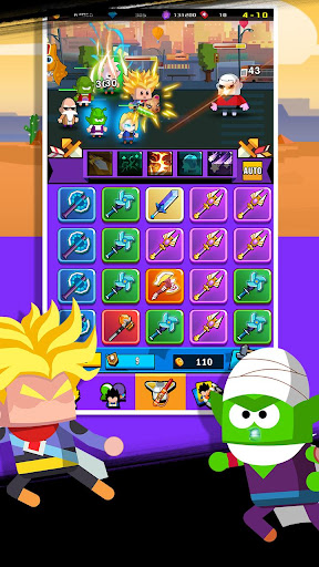 Télécharger Super Z Idle Fighters - Jeu de cartes d'action RPG mod apk screenshots 1