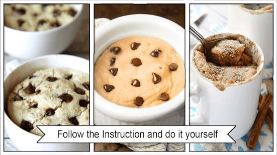 Easy Mug Cake Recipes - náhled