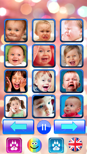 Sound for kids. Baby touch sound. Laugh & cry 1.9 Screenshots 1