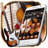 Book Guitar Launcher Theme Android APK Download Free By Fancy Theme Palace