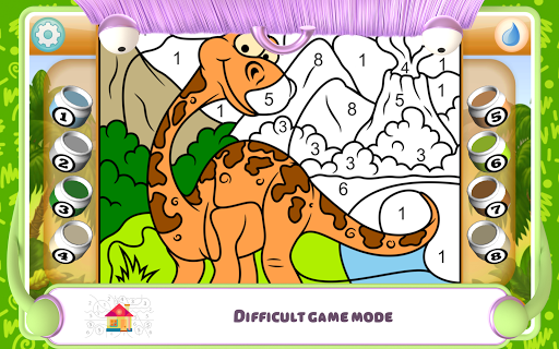 Paint by Numbers - Dinosaurs 2.2 screenshots 20