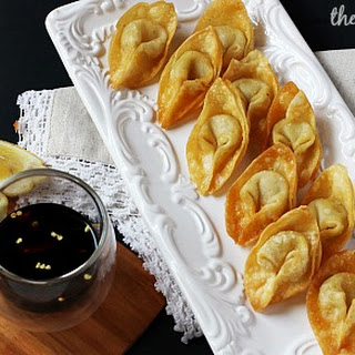 Spicy Cream Cheese Wontons