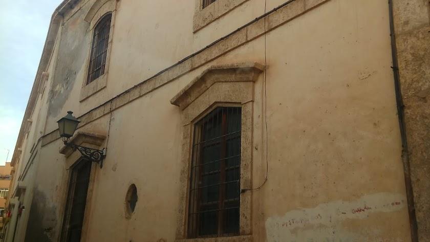 Muro en el que se pretende abrir una puerta en la iglesia de San Juan