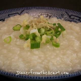 Chinese Congee - Jook - Rice Porridge