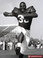 Photo: Prentice Gautt played football under legendary coach Bud Wilkinson.