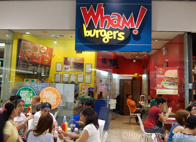 Wham Burgers store at The Block, SM North EDSA