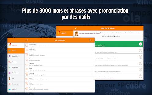 Apprendre l'Anglais rapidement - MosaLingua Screenshot