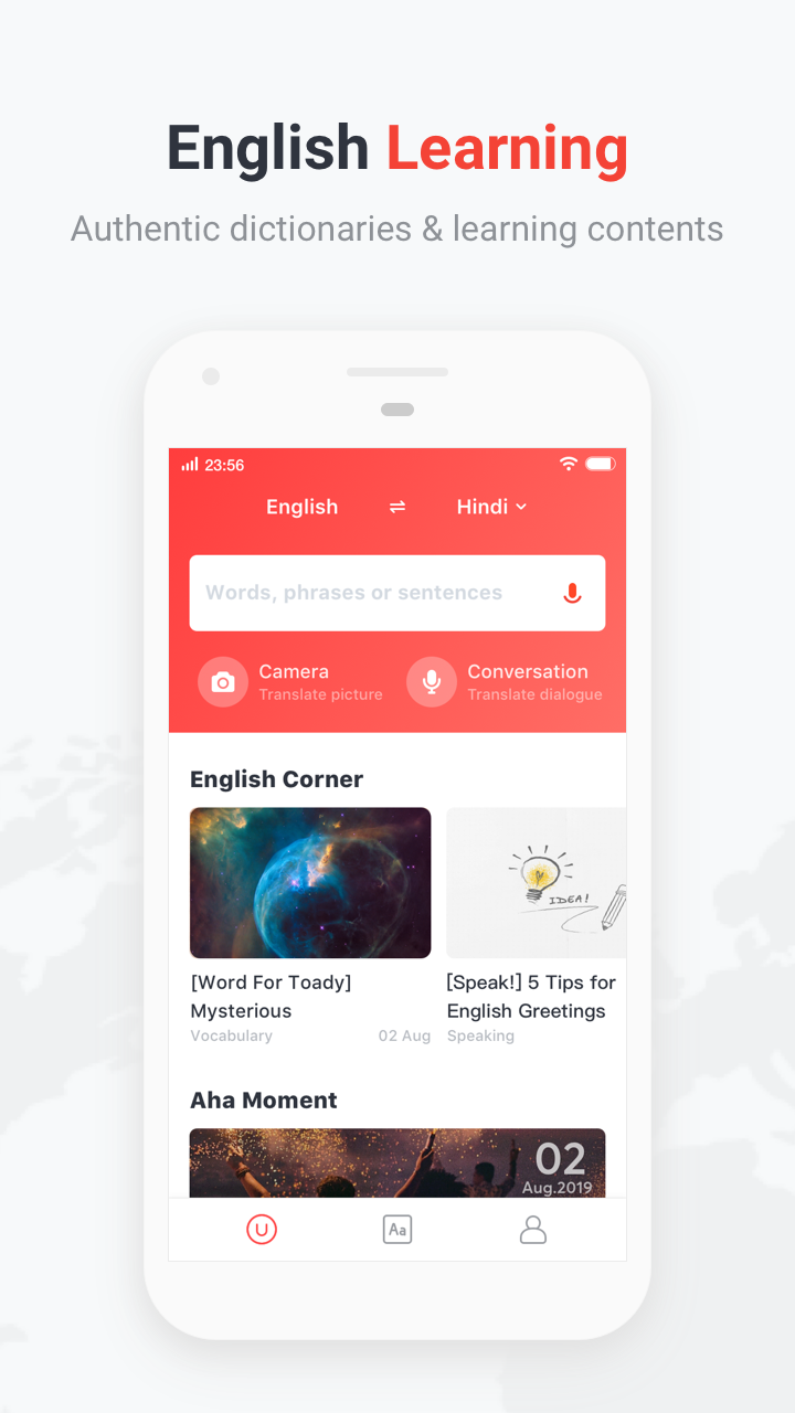 U-Dictionary: Translate & Learn English v4.6.3 build 133 [VIP] APK [Latest]