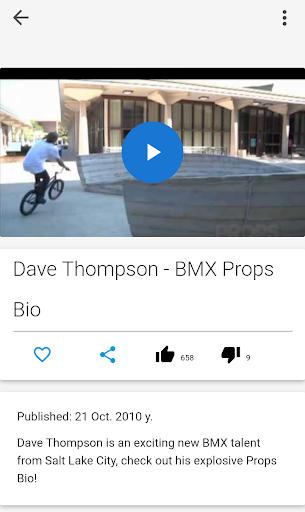 BMX Rides Video screenshot 3