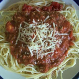 Fave Spaghetti Sauce