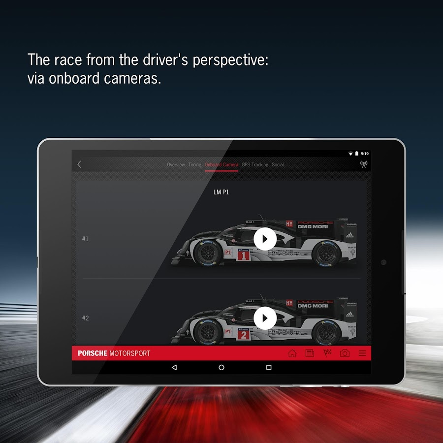 Porsche Motorsport- screenshot