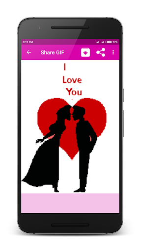Romantic Couple Love GIF 1.3 screenshots 2