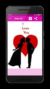 Romantic Couple Love GIF - náhled