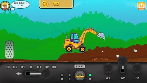 I am an Excavator Runner android2mod screenshots 16