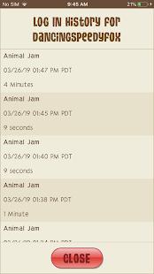 Animal Jam Parent Tools - náhled