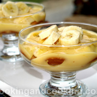 Custard Pudding With Custard Powder Recipes.