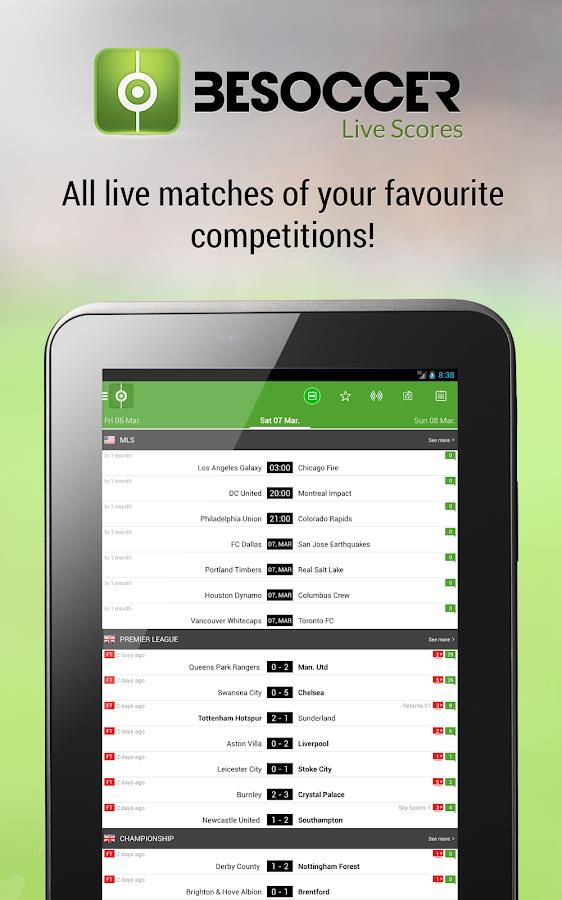 BeSoccer - Live Score - screenshot