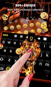 Fire Wallpaper and Keyboard – Fire Lion 3